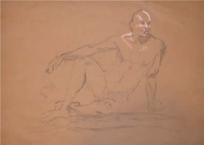 Chris Willey drawing 4 of me Nov 23 2011